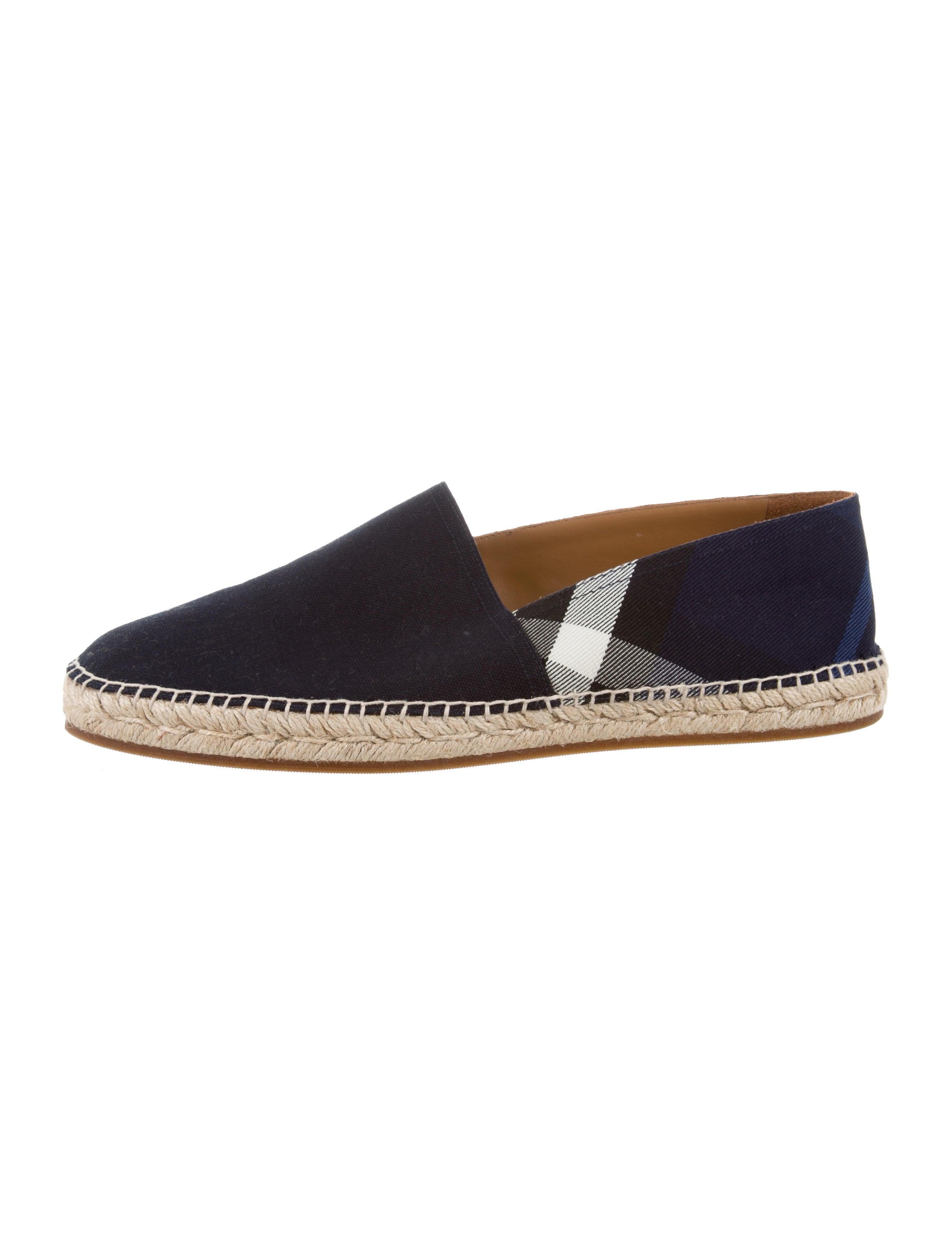 ee1f5acf6 Burberry Nova Check Canvas Espadrilles - Shoes - BUR101530 | The ...