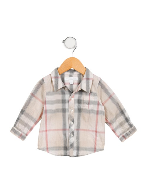 ccf7d124 Burberry Boys' Exploded Check Button-Up Shirt - Boys - BUR102370 ...