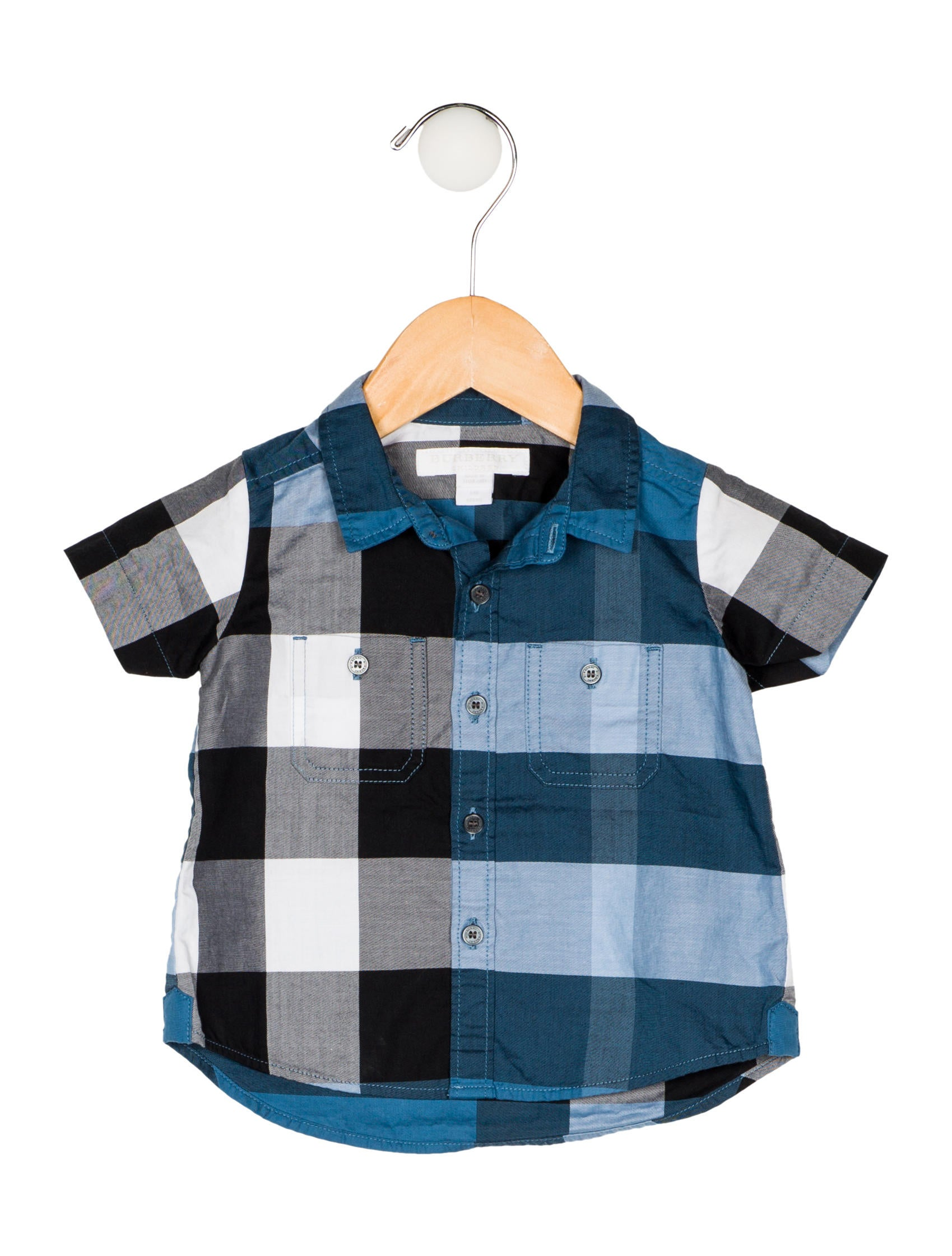 7fe86ca6 Burberry Boys' Exploded Check Print Shirt - Boys - BUR103129 | The ...