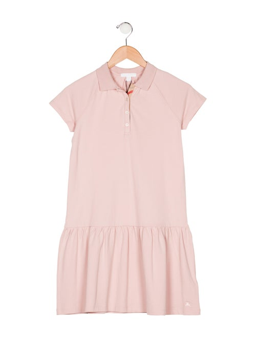 e5451b73e35 Burberry Girls  Short Sleeve Polo Dress w  Tags - Girls - BUR108088 ...