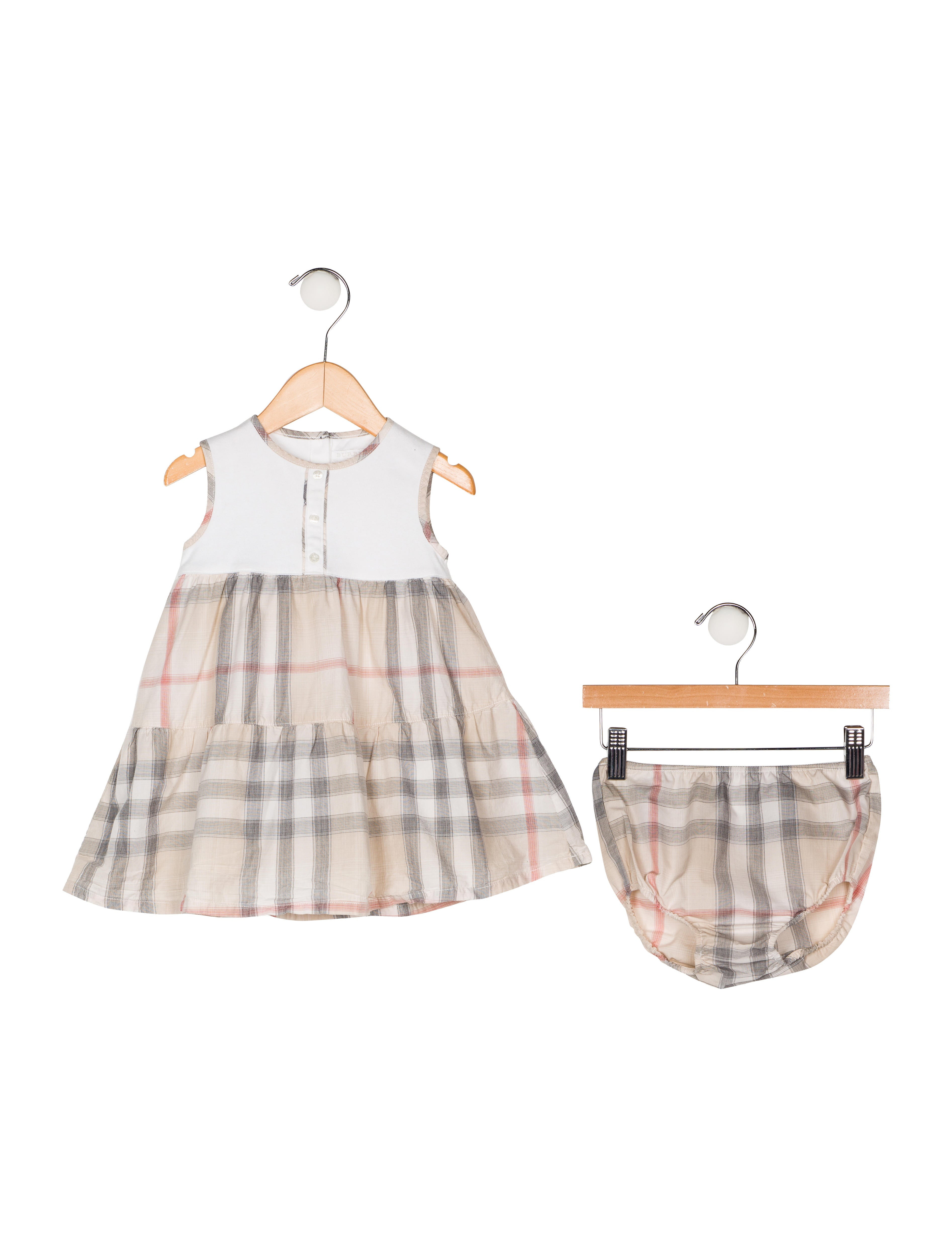 9b85ad8f Burberry Girls' Two-Piece Nova Check Set - Girls - BUR109327 | The ...