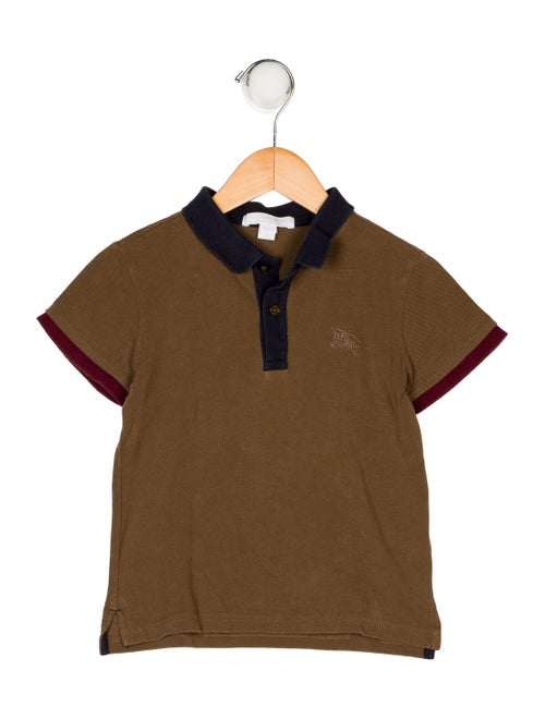 Burberry Boys  Collared Shirt - Boys - BUR116151  f7b4d1065