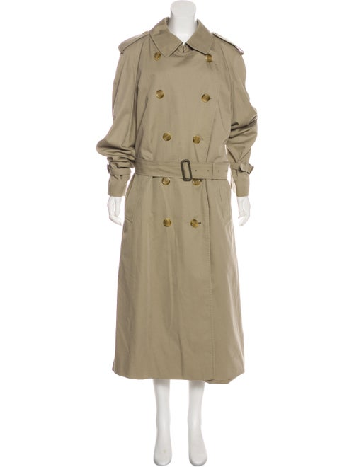 Burberry Vintage House Check-Lined Coat Brown