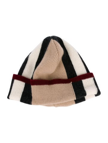Burberry. Check Knit Beanie 526b6f0105c7