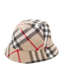 1da94ea454a Vintage Nova Check Bucket Hat.  175.00 · Burberry