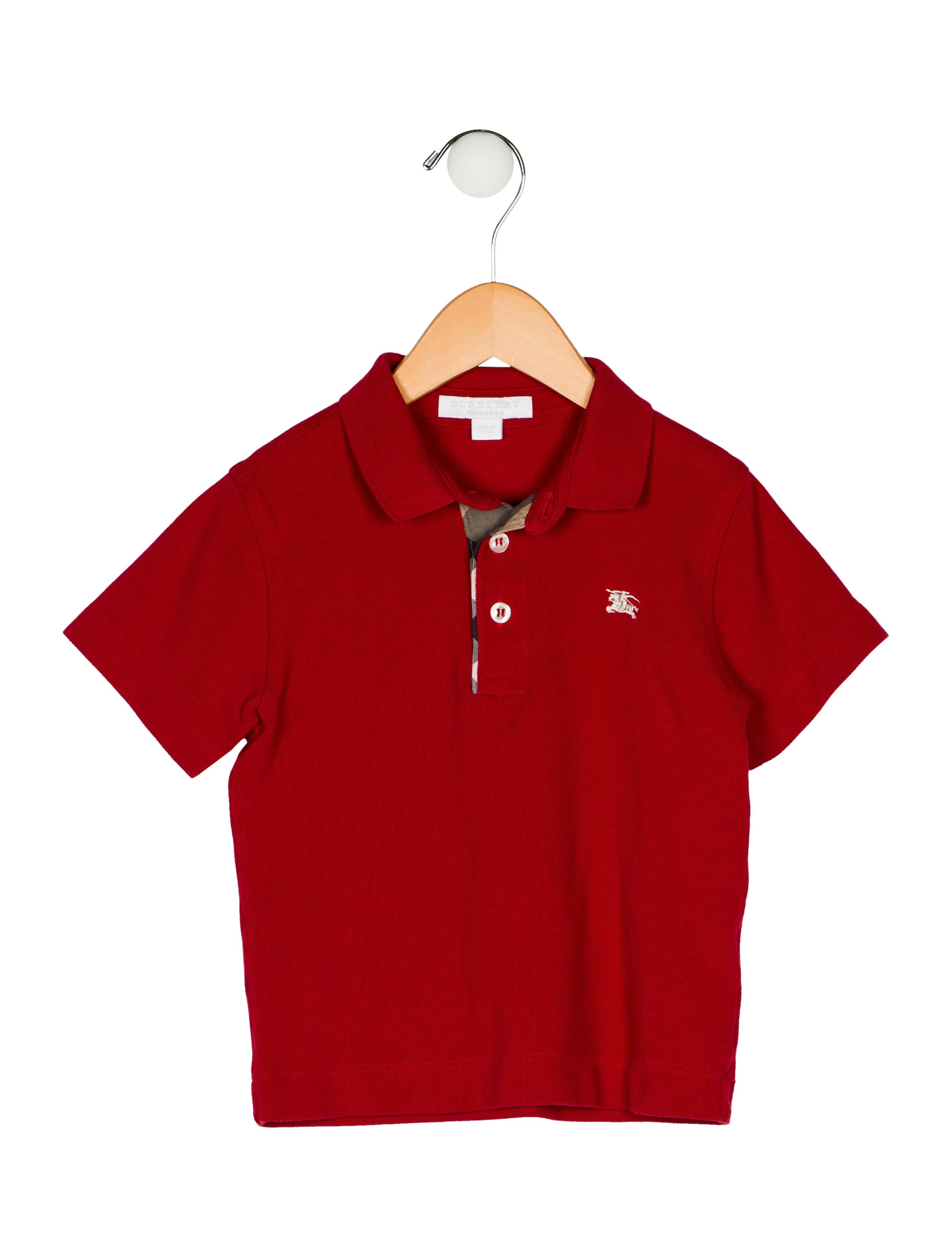 7ab0273a Burberry Boys' Polo Shirt - Boys - BUR118422 | The RealReal