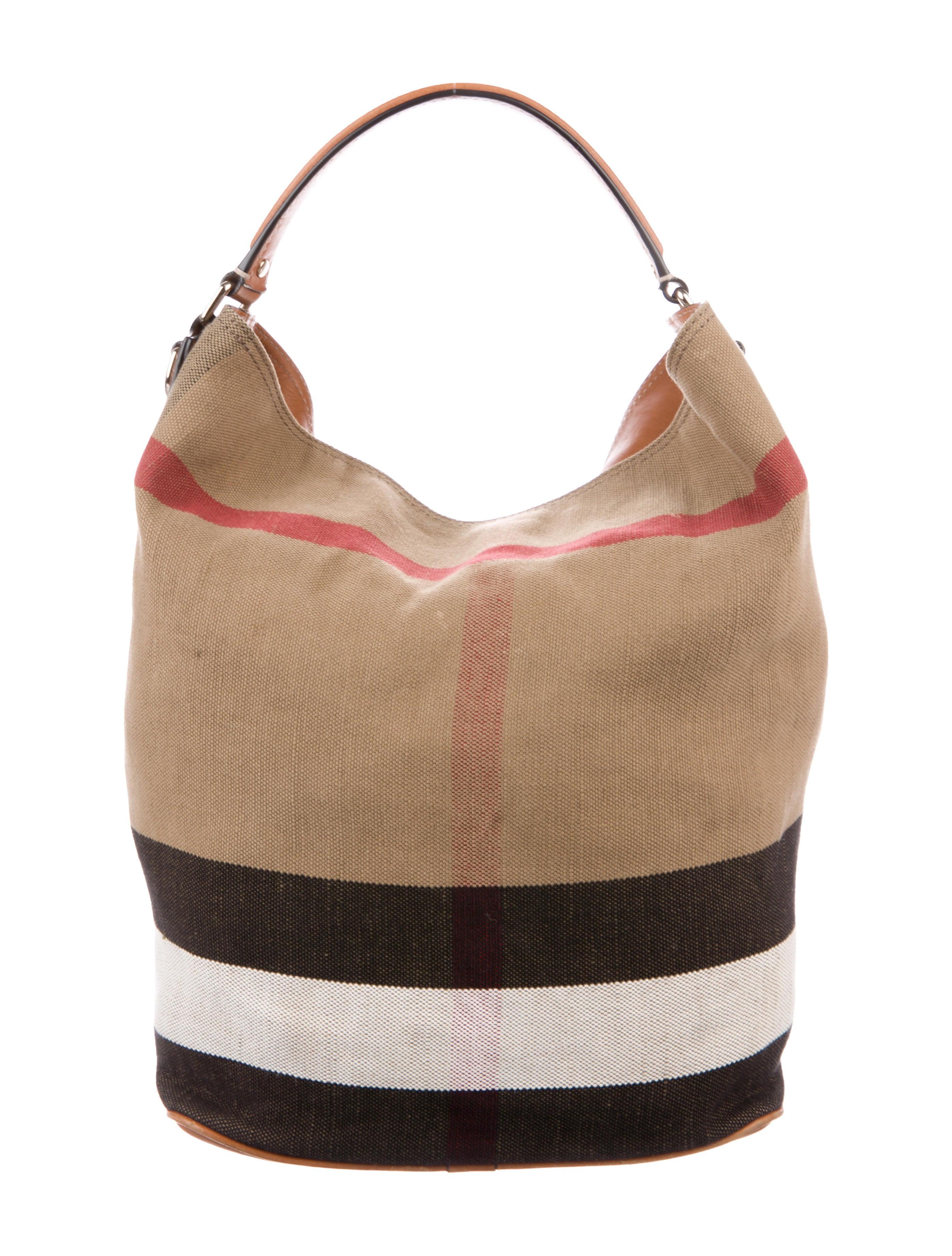 35d0561b9e3c Burberry Medium Ashby Bucket Bag - Handbags - BUR118441