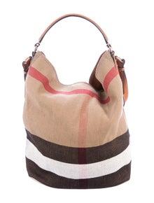 df234d8471fd Burberry. Medium Ashby Bag