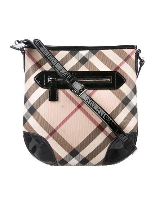 c2c90c6c29f1 Burberry Super Nova Check Crossbody Bag - Handbags - BUR120371