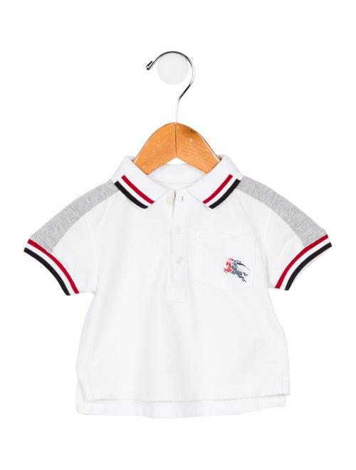 46caade1 Burberry Infant Boys' Striped Polo Shirt - Boys - BUR120766 | The ...