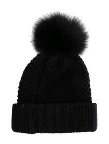 1b13239eb37 Burberry. Wool-Cashmere Pom Pom Beanie