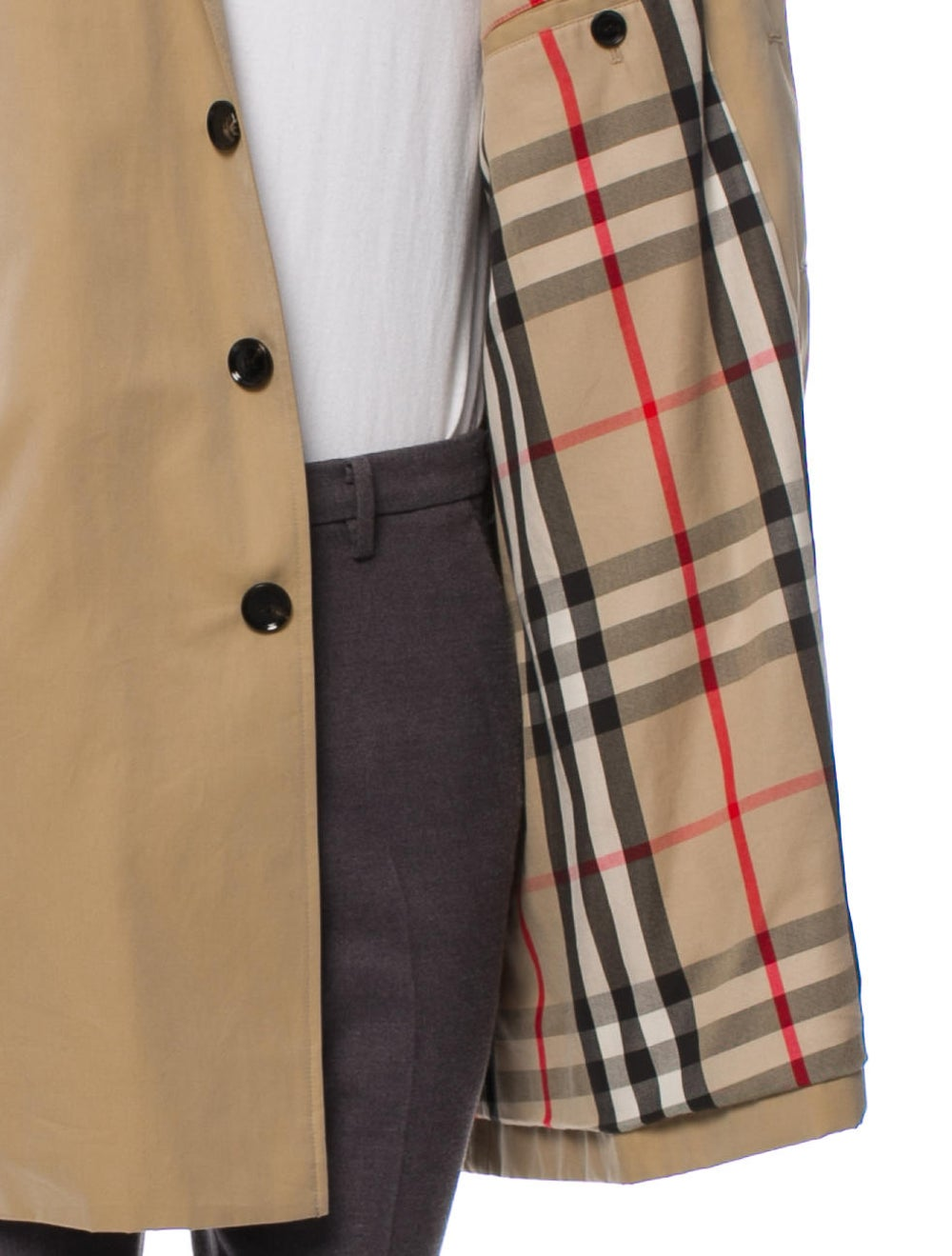 Burberry Nova Check Trench Coat beige - image 4
