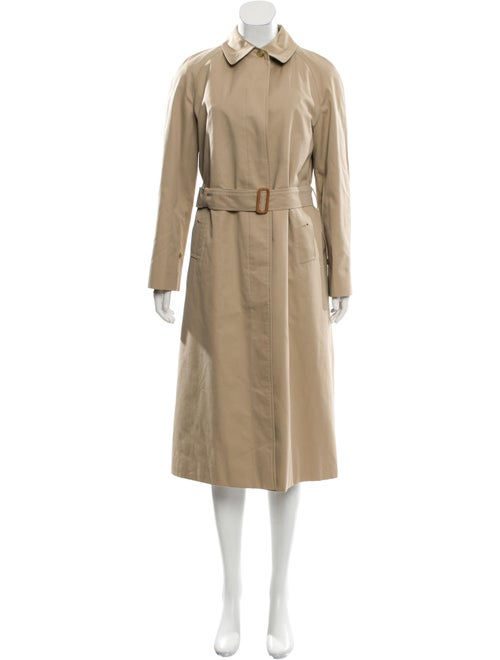 Burberry Belted Trench Coat Beige
