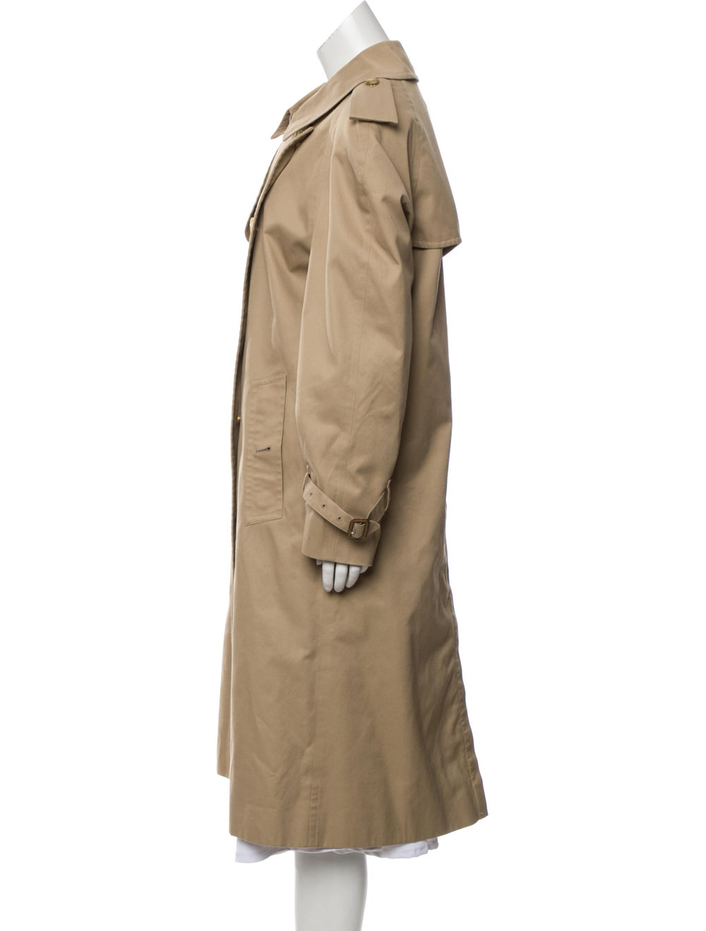 Burberry Double-Breasted Trench Coat Beige - image 2