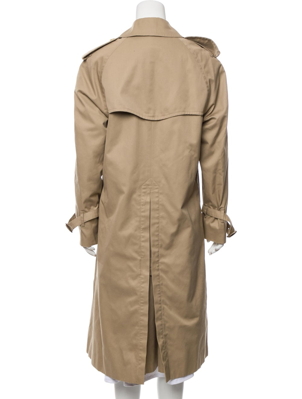 Burberry Double-Breasted Trench Coat Beige - image 3