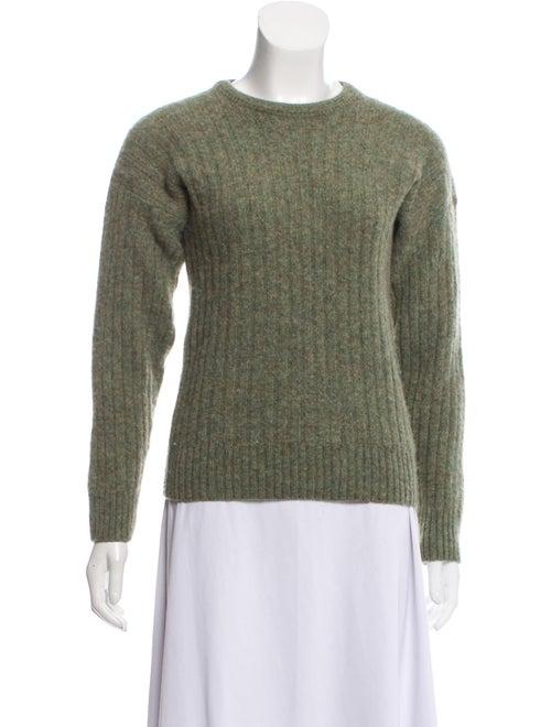 Burberry Wool Knit Sweater green