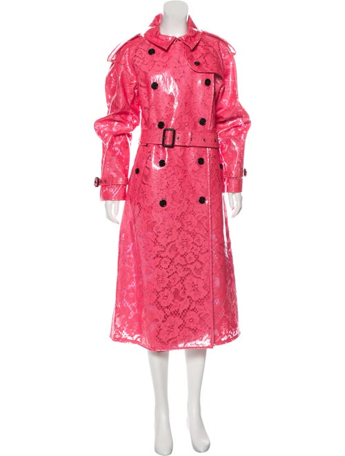 Burberry Lace Trench Coat w/ Tags Pink
