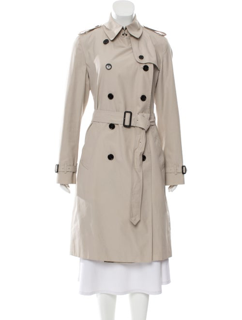 Burberry Double-Breasted Trench Coat Beige