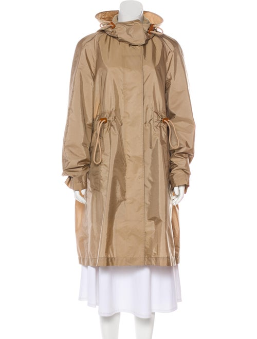 Burberry Knee-Length Trench Coat Beige - image 1