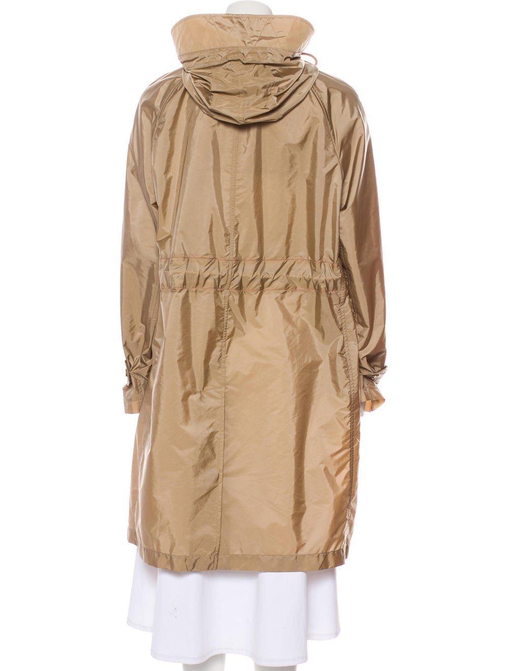 Burberry Knee-Length Trench Coat Beige - image 3