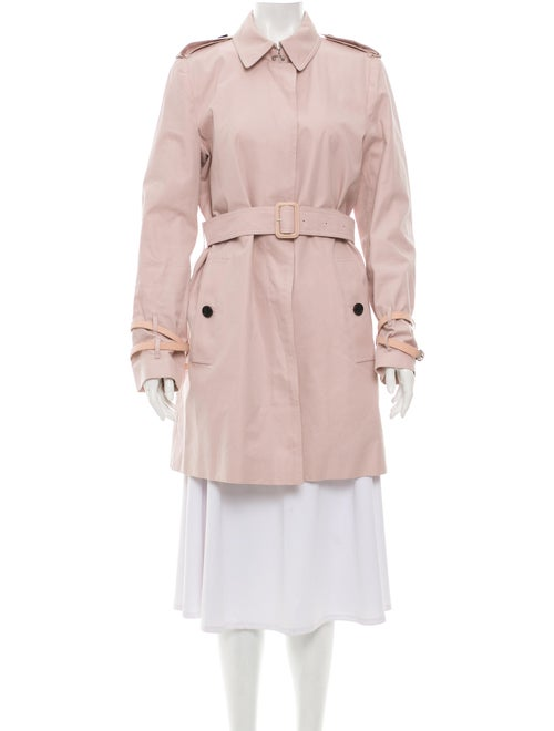 Burberry Rochester Trench Coat Pink