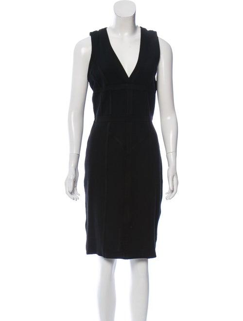 Burberry Mesh Sleeveless Dress Black