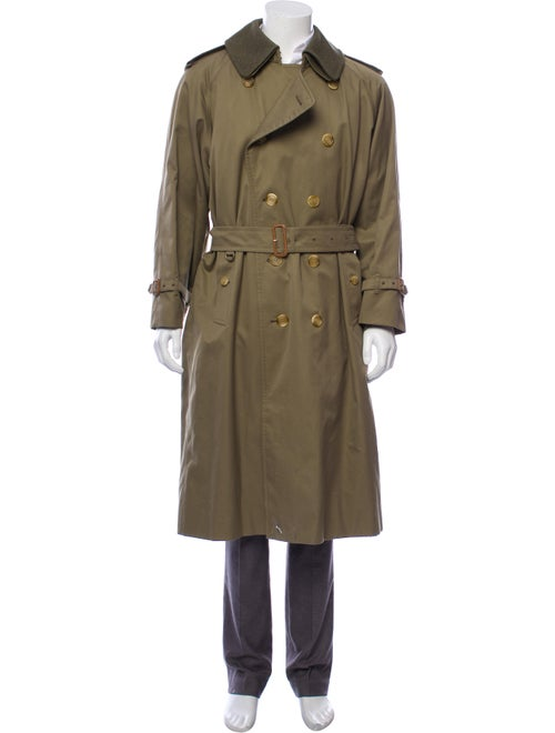 Burberry Wool-Lined Trench Coat beige