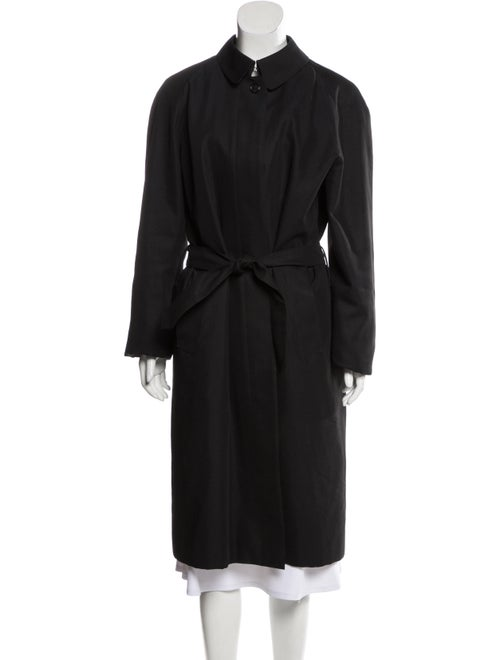 Burberry Belted Long Trench Coat wool