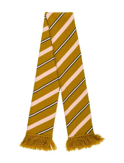 Burberry Knit Striped Scarf multicolor