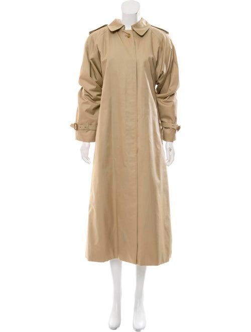 Burberry Long Trench Coat Beige