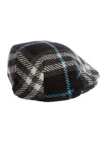 Burberry Wool Newsboy Cap