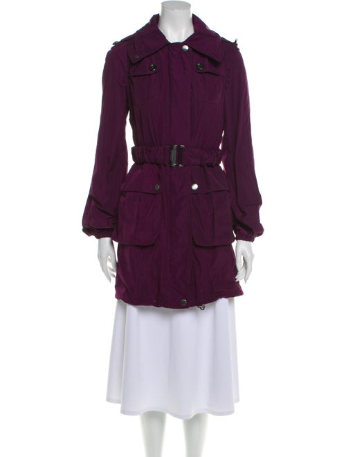 Burberry Trench Coat Purple