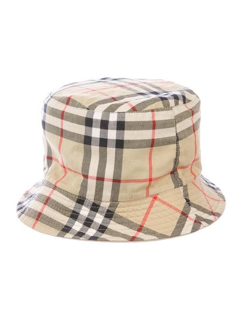 Burberry Nova Check Bucket Hat Tan