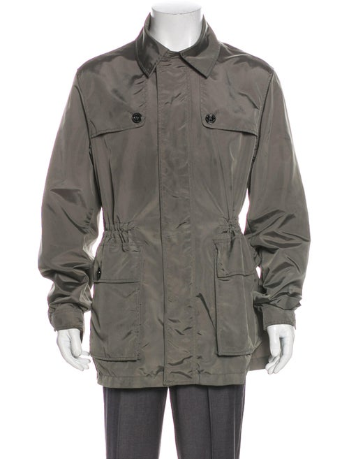 Burberry Trench Coat Grey