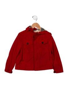 Burberry Boys' Hooded Lightweight Jacket