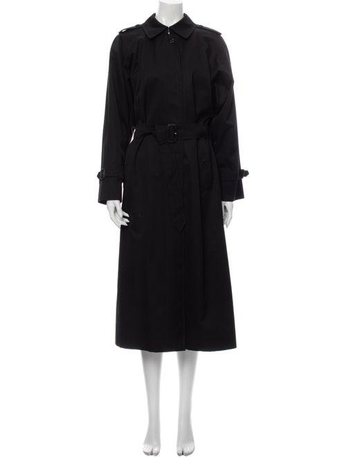 Burberry Vintage Trench Coat Black