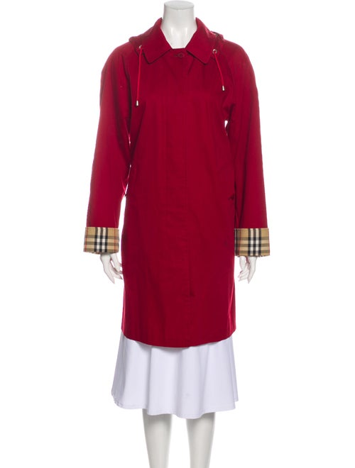 Burberry Trench Coat Red