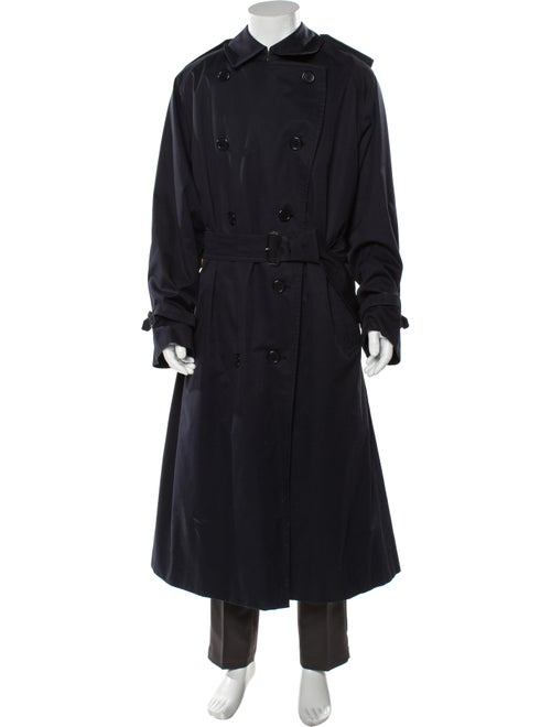 Burberry Trench Coat Blue