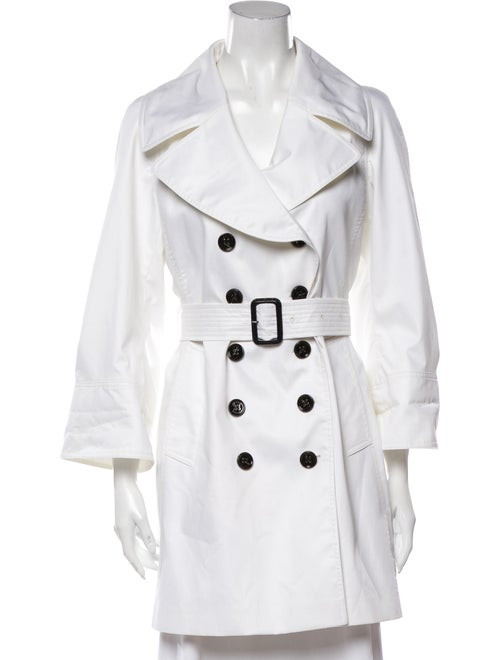 Burberry Trench Coat White