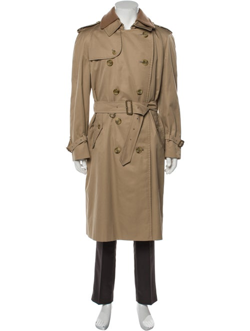 Burberry House Check Pattern Trench Coat
