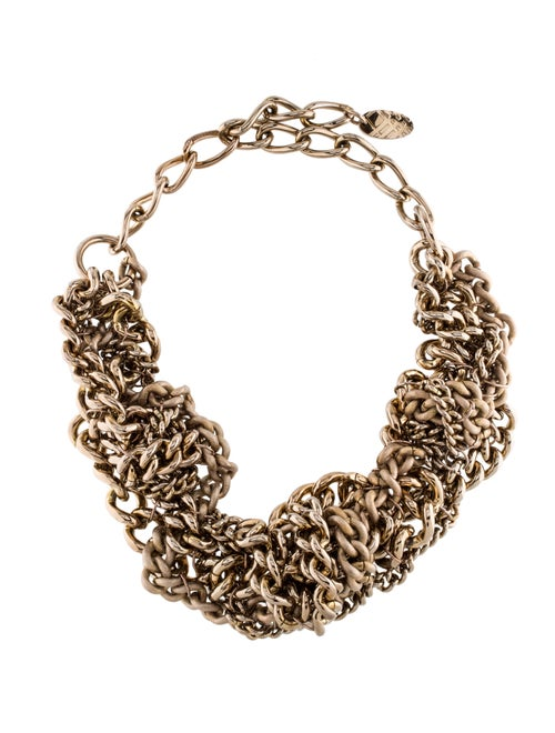 Burberry Tangled Chains Necklace Gold