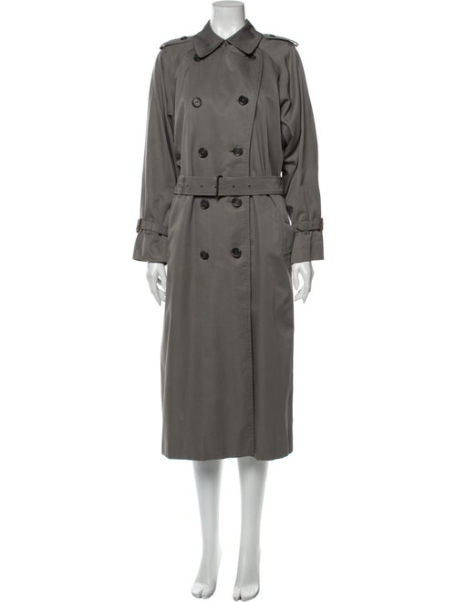 Burberry Vintage Trench Coat Grey