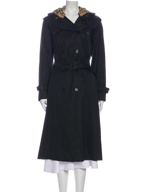 Burberry Vintage Wool Trench Coat Wool