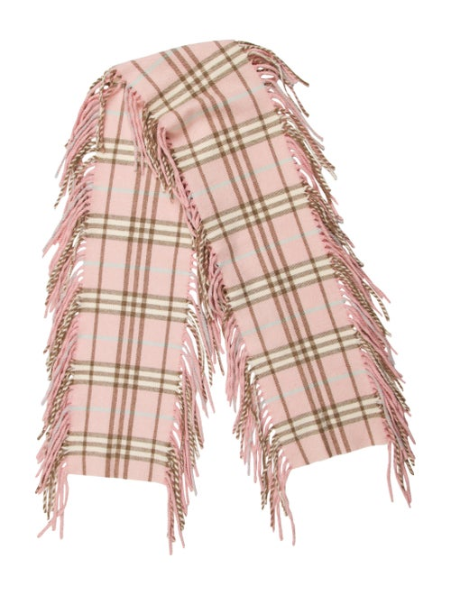 Burberry Cashmere Happy Scarf Pink
