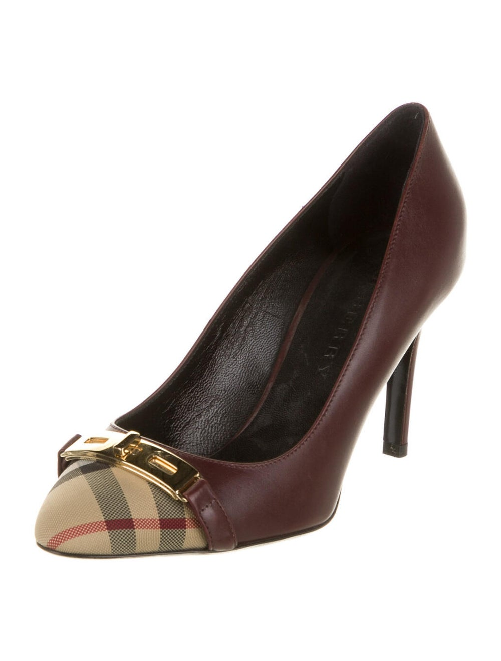 Burberry Leather Pumps - image 2