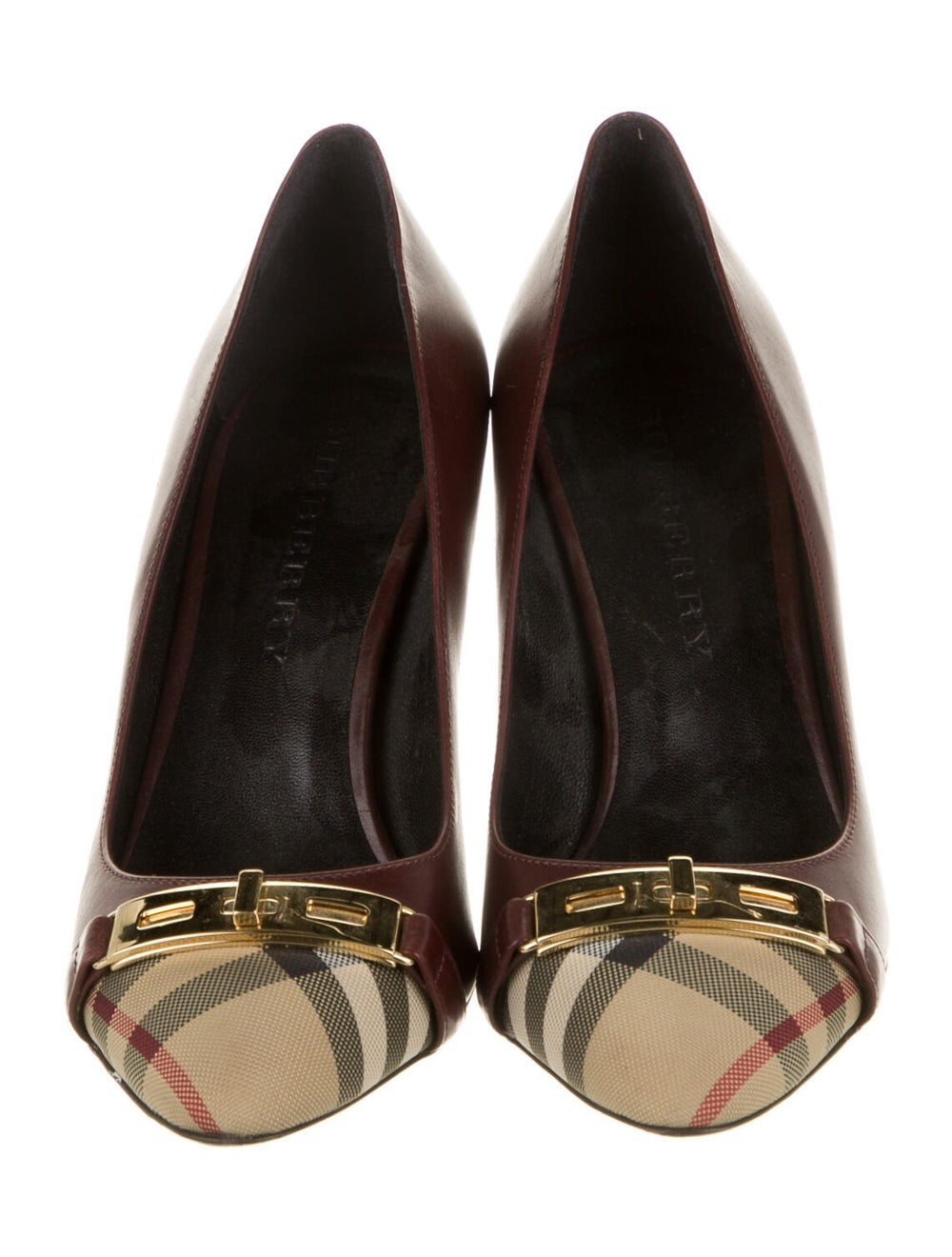 Burberry Leather Pumps - image 3