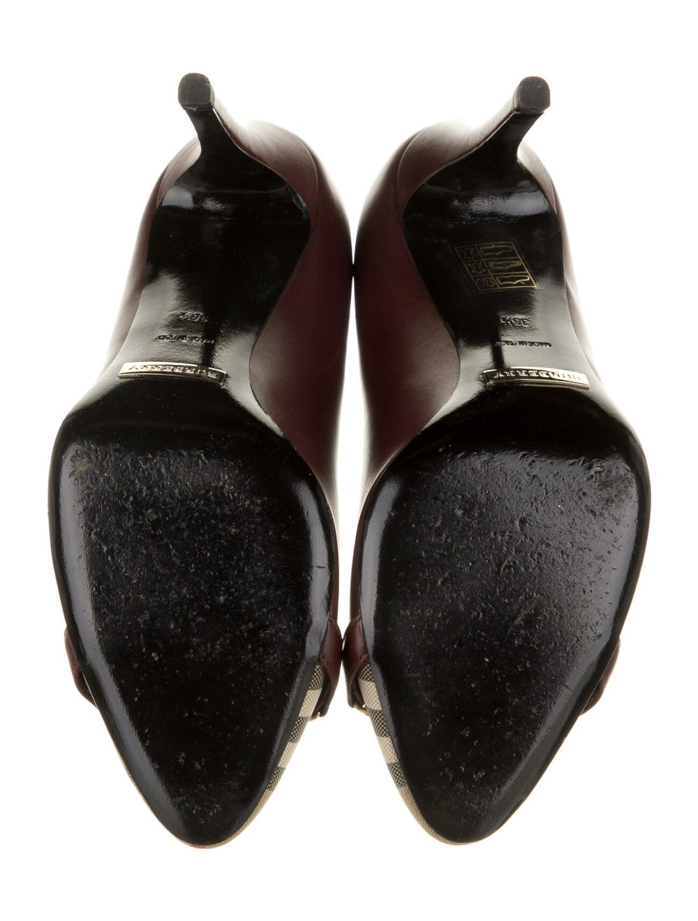 Burberry Leather Pumps - image 5