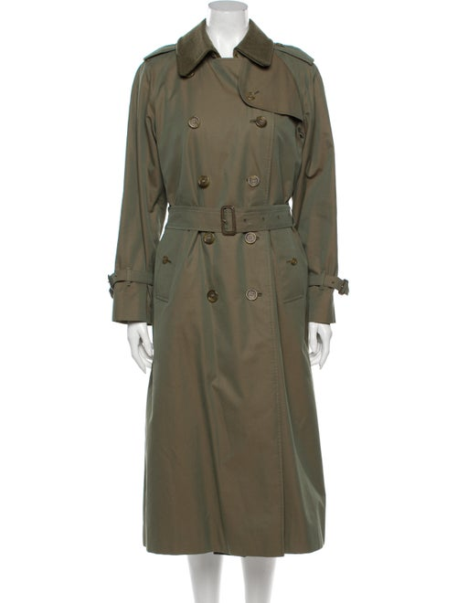 Burberry Trench Coat Green