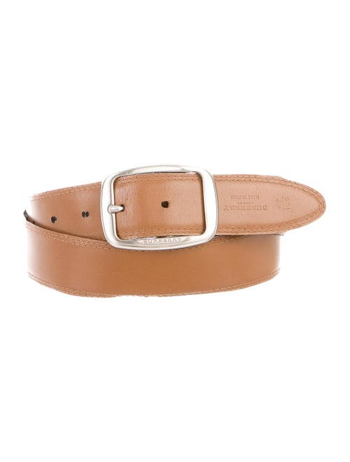 Burberry Reversible Leather Belt black