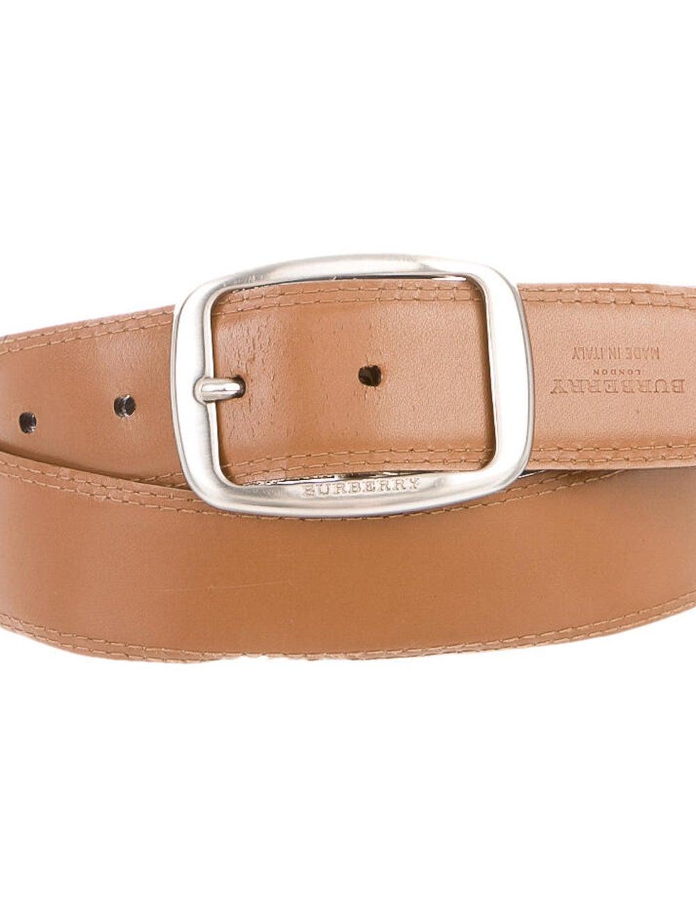 Burberry Reversible Leather Belt black - image 2